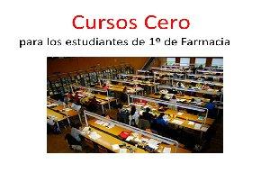 <p>Los cursos&nbsp;cero se realizar&aacute;n de manera intensiva la semana previa al comienzo oficial de las clases.</p>